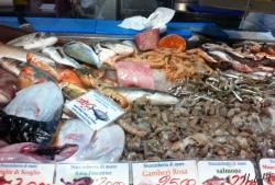 Выкладка рыбы