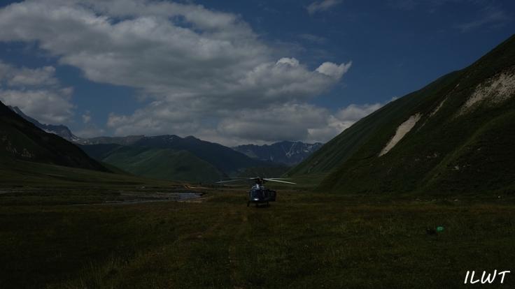 грузия вертолет