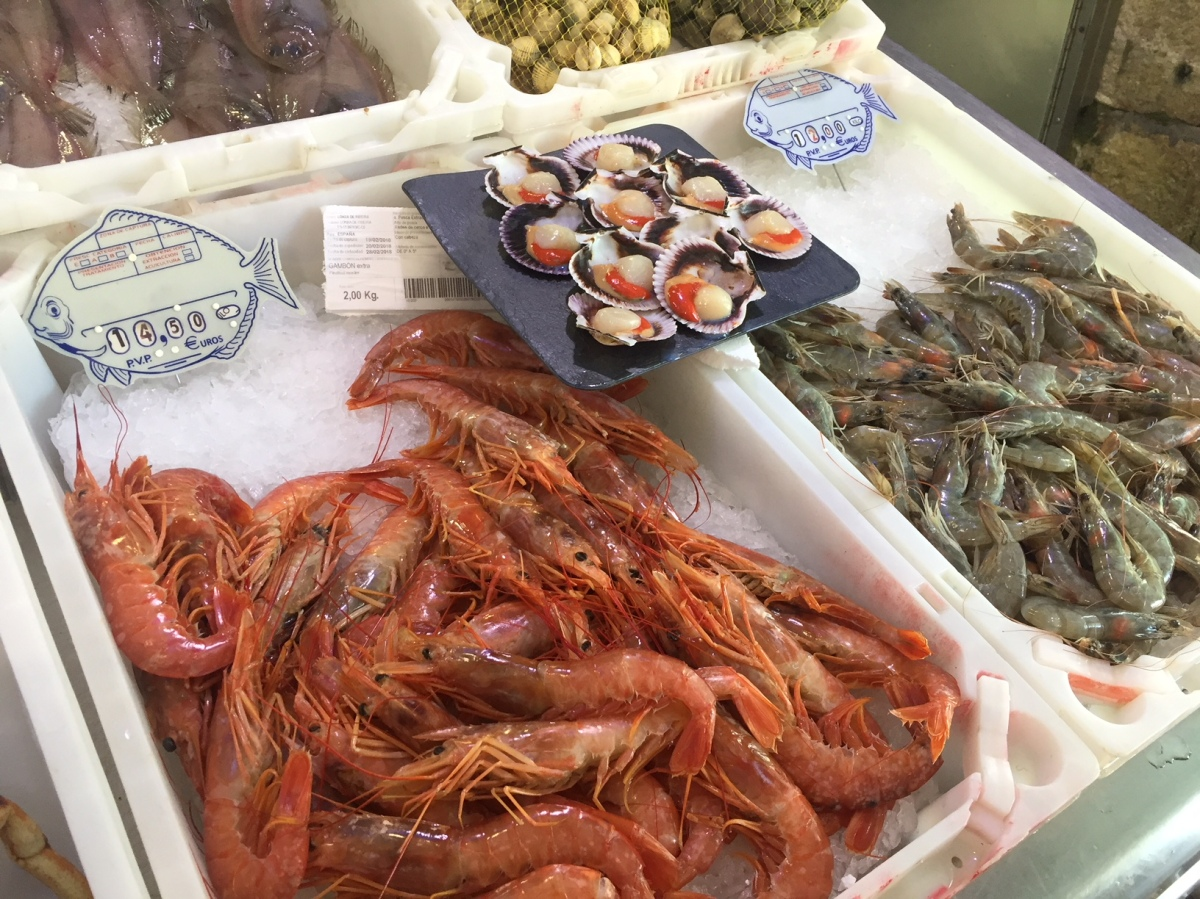 О рыбаках и рыбке. Галисия.