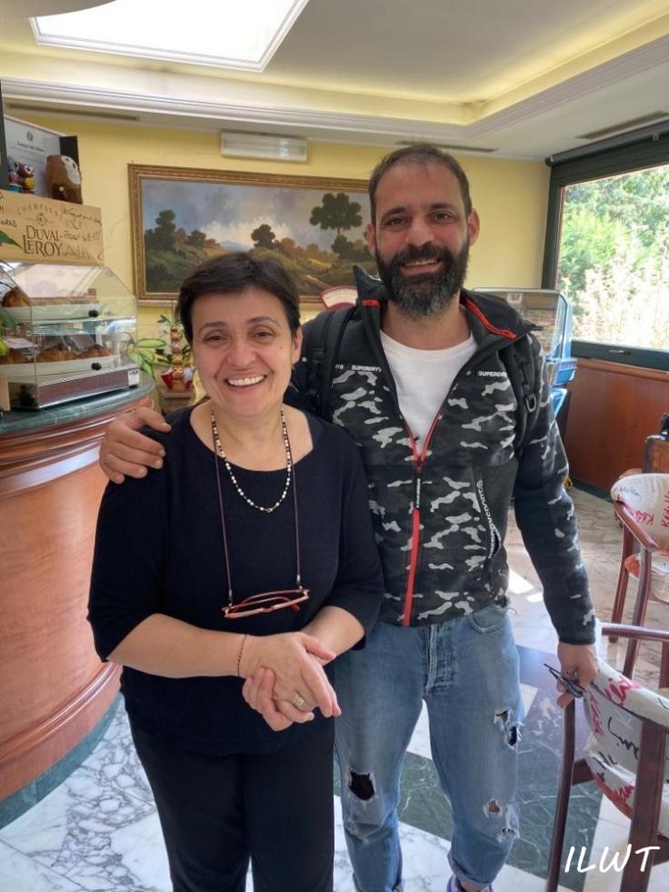 Кристиан Костарди с мамой